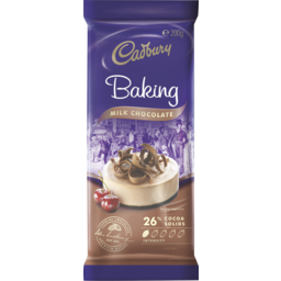 Photo of Cadbury Milk Baking Chocolate 200gm