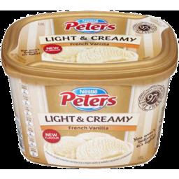 Photo of Nestle Peters Light & Creamy French Vanilla 1.8