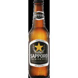 Photo of Sapporo Premium Beer 355ml Bottle Spritzed