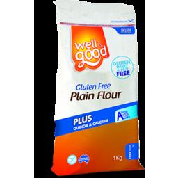 Photo of Well & Good Plain Flour 1kg