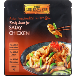 Photo of Lee Kum Kee Ready Sauce For Satay Chicken 110 G 110g