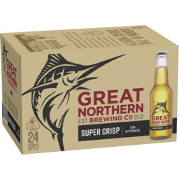 Photo of Great Northern Super Crisp Lager Bottles