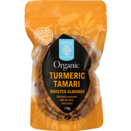 Photo of Chantal Organics Almonds Turmeric Tamari Roasted 175g