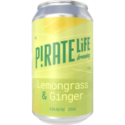 Photo of Pirate Life Lemongrass & Ginger Sour Can