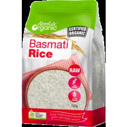 Photo of Absolute Organic Rice - Basmati (White)