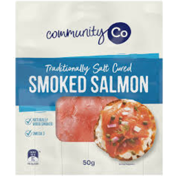 Photo of Community Co. Smoked Salmon 50g