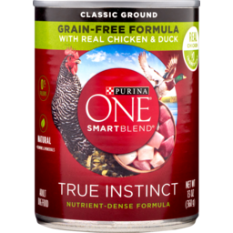 Photo of Purina One Dog Food Dry Smartblend True Instnct Tender Cuts In Gravy Pet Food With Real Chicken & Duck 368g