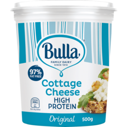 Photo of Bulla Cottage Cheese Original Low Fat (500g)