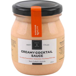 Photo of Birch And Waite Creamy Cocktail Seafood Sauce 250gm