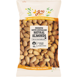 Photo of JC's Natural Almonds 500g