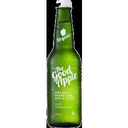 Photo of The Good Apple Organic Sparkling Apple Juice 330ml
