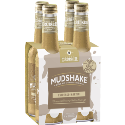 Photo of Vodka Cruiser Mudshake Espresso Martini Stubbies