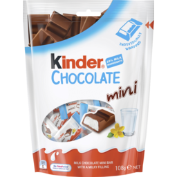 Photo of Kinder Chocolate Minis 108g