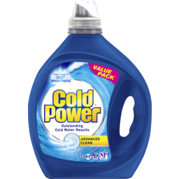 Photo of Cold Power Advanced Clean, Washing Liquid Laundry Detergent, 4 Litres