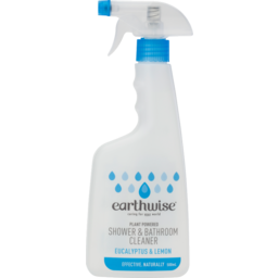 Photo of Earthwise - Shower & Bathroom Cleaner Eucalyptus & Lemon