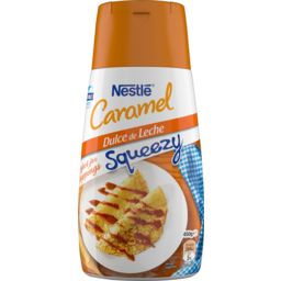 Photo of Nestle Caramel Dulce De Leche Squeezy Topping 450g