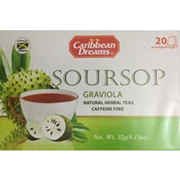Photo of Caribbean Dreams Soursop Tea