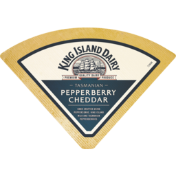 Photo of King Island Cheddar Pepperberry