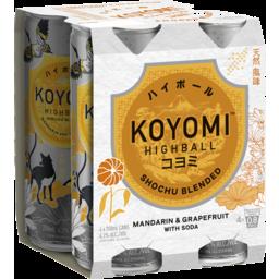 Photo of Koyomi Mandarin & Grapefruit Can