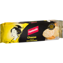 Photo of Fantastic Rice Crackers Cheese 100g