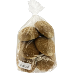 Photo of Wholemeal Lunch Bread Rolls 6 Pack
