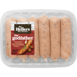Photo of Hellers The Godfather Sausages 6 Pack