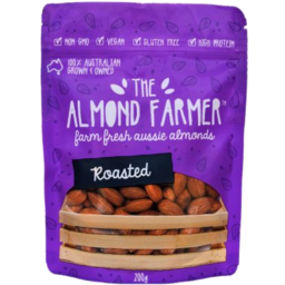 Photo of The Almond Farmer Almond Roasted 200g