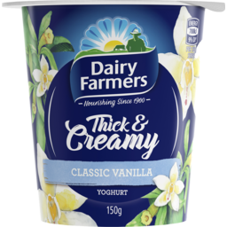Photo of Dairy Farmers Thick & Creamy Vanilla 150g