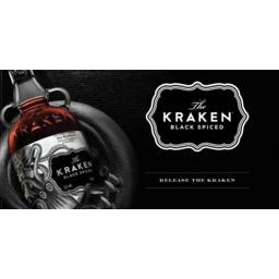 Photo of Kraken Black Spiced Rum & Cola Bottles