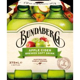 Photo of Bundaberg Apple Cider 4x375ml Bottles