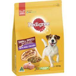 Photo of Pedigree Dog Food Dry Small Breed With Chicken 2.5kg