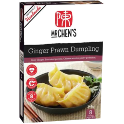Photo of Mr Chens Ginger Prawn Dumpling 240gm