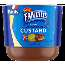 Photo of Pauls Allen's Fantales Choc Caramel Custard 170g