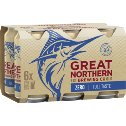 Photo of Great Northern Zero Can 6 Pack