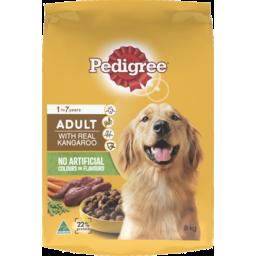 Photo of Pedigree Adult Dry Dog Food With Real Kangaroo 8kg