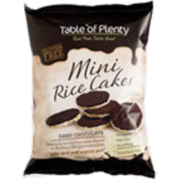Photo of Table Of Plenty Rice Cake Dark Choc 60g