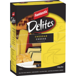Photo of Fantastic Delites Cheddar Cheese 100g