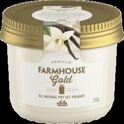Photo of Pauls Farmhouse Gold Pot Set Yoghurt Vanilla 150g