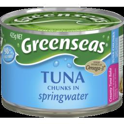 Photo of Greenseas Tuna Chunks In Springwater 425g