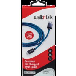 Photo of WalknTalk Premium 3M Charge & Sync Cable USB-C