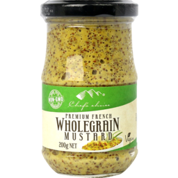 Photo of Chefs Choice - Mustard - Wholegrain - 200g