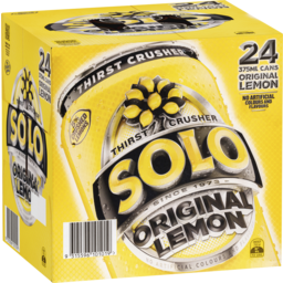 Photo of Solo Thirst Crusher Original Lemon 24x375ml
