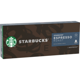 Photo of Starbucks Espresso Roast Coffee Capsules 30 Pack 171g