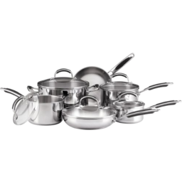 Photo of Kitchen Aid Staineless Steal Cookware Set 11pc