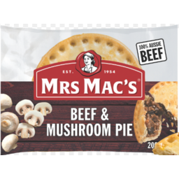 Photo of Mrs Macs Beef & Mushroom Pie 175gm