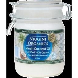 Photo of Niugini Organics Oil - Coconut (Raw Virgin - Cold Pressed)