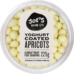 Photo of Jc's Yoghurt Coated Apricots 225gm