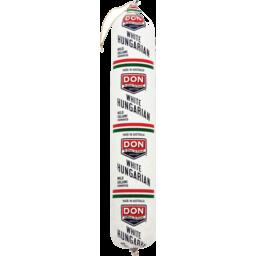 Photo of Don Mild Hungarian Salami (sliced)