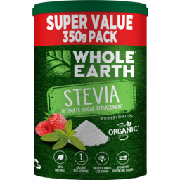 Photo of Whole Earth Organic Stevia Ultimate Sugar Replacement With Erythritol 350g