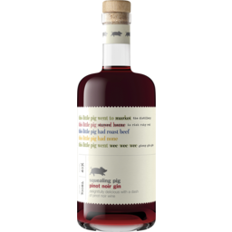 Photo of Squealing Pig Pinot Noir Gin Non Vintage 700ml